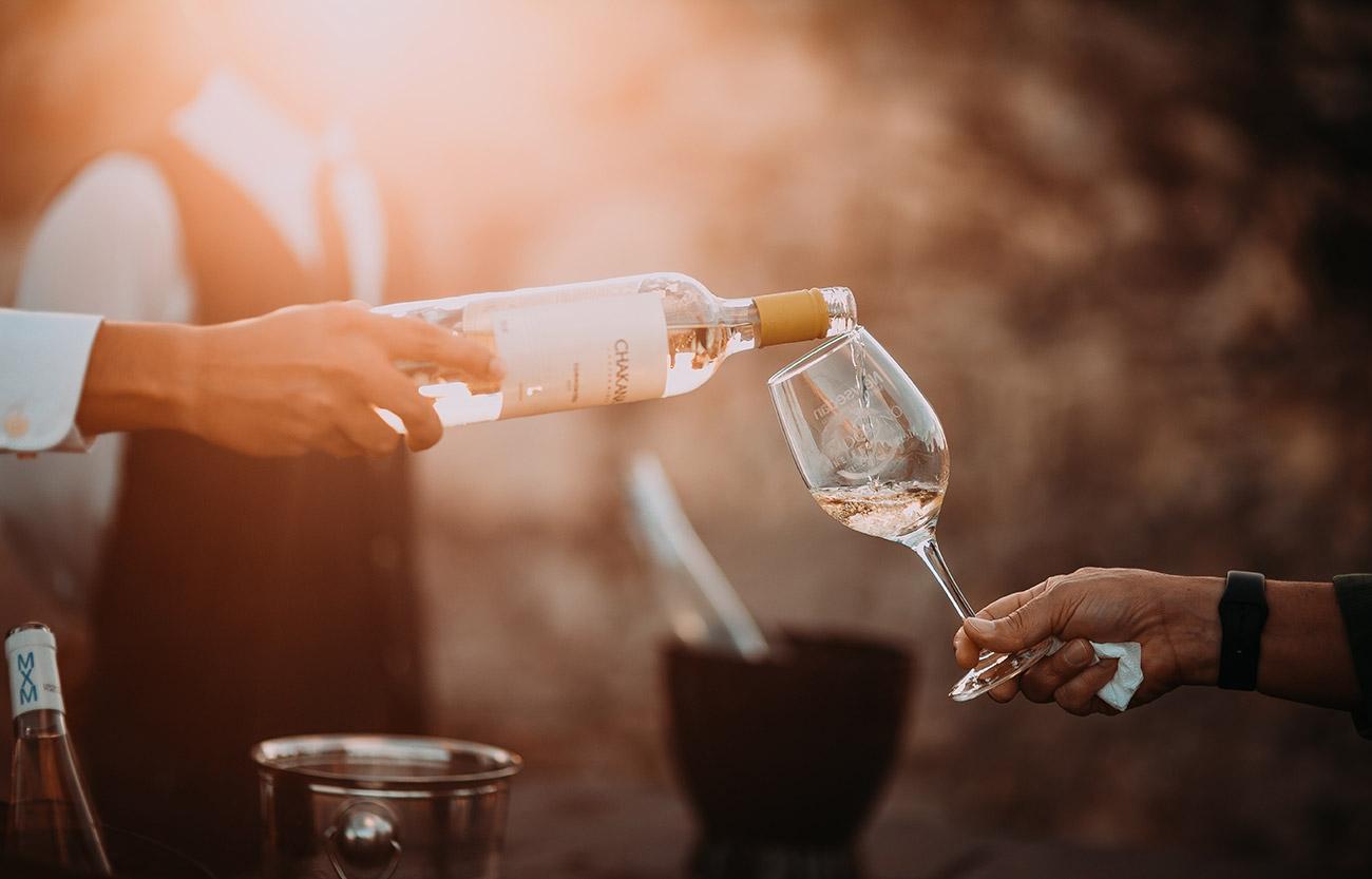 Wein im Hof
